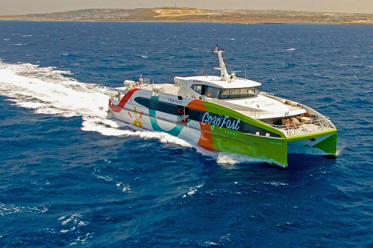Read more about the article Valletta-Gozo fast ferry service kicks off today