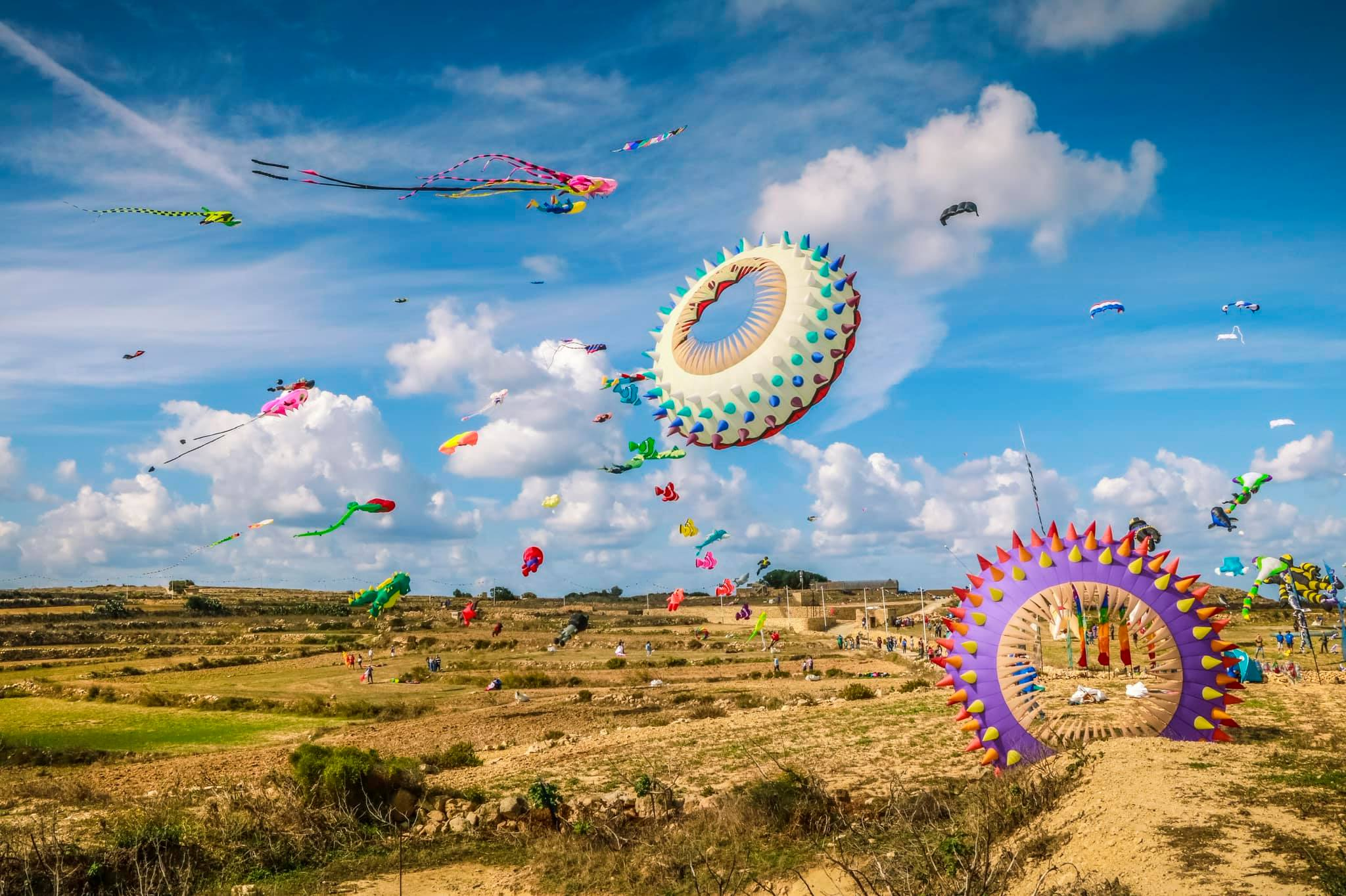 Read more about the article International Kite and Wind Festival coloured Gozo's skies for the weekend