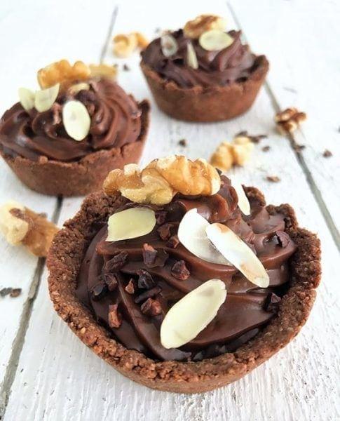 glutenvrije chocolade mini slofjes
