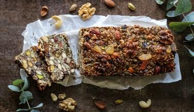 Glutenvrij Noten en Zaden broodje