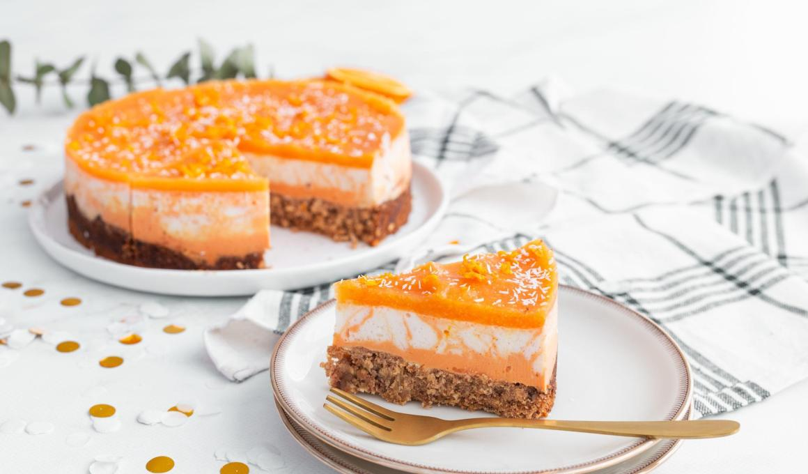 Glutenvrije Oranje Ontbijttaart