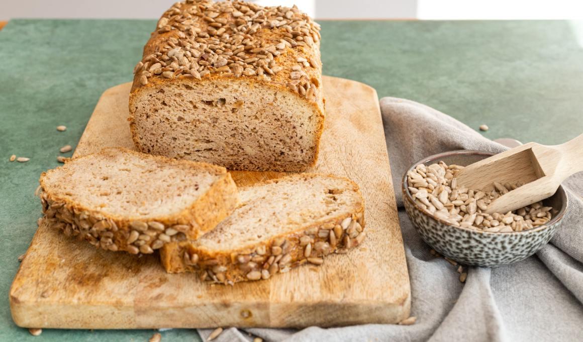 Overheerlijk glutenvrij brood dat ook koolhydraatarm is!