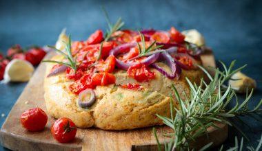 Glutenvrije foccacia zonder broodmix