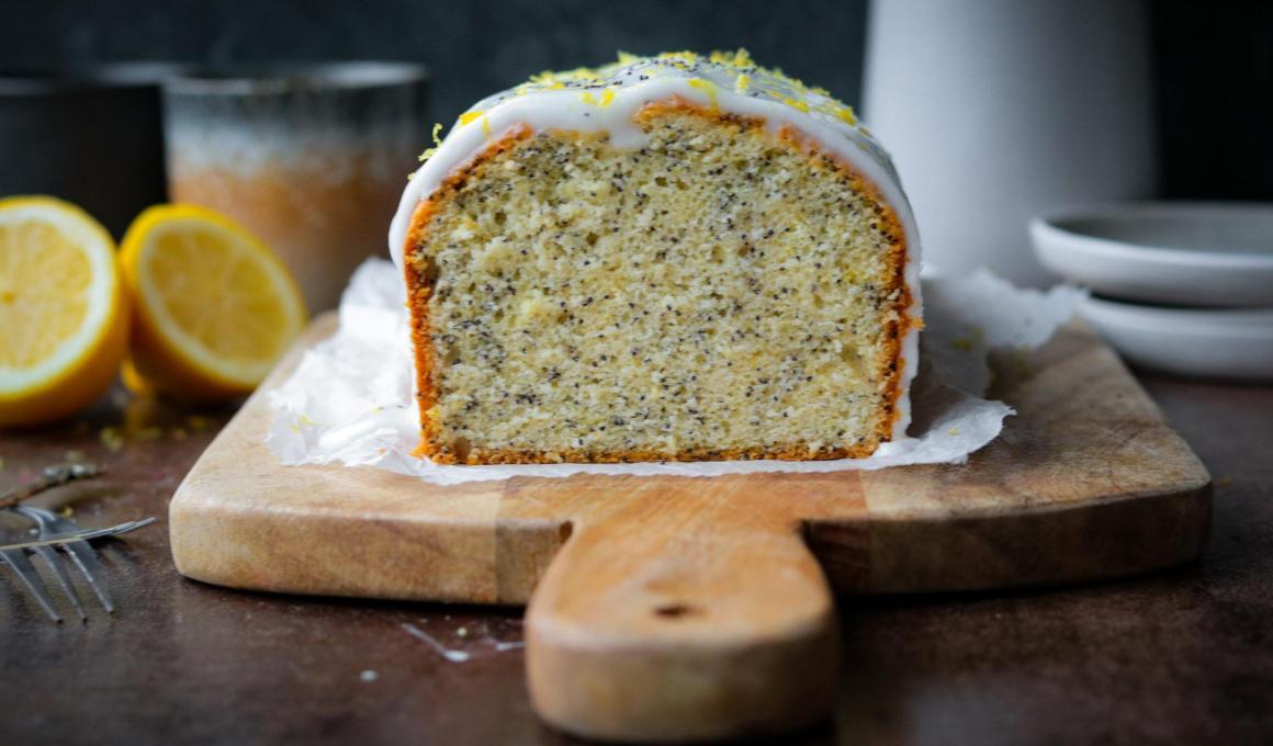 Glutenvrije citroen- maanzaadcake