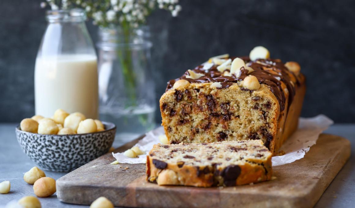Glutenvrije stracciatella cake