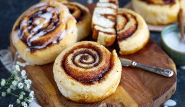 Glutenvrije cinnamon rolls