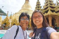 Touring around Shwedagon