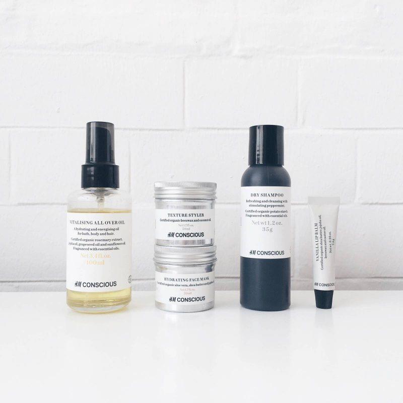 H&M Conscious Organic Beauty Range Review