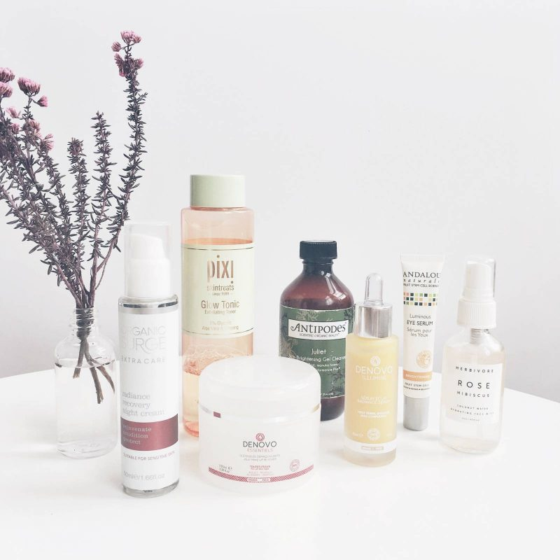 Evening Natural Layering Skincare Routine