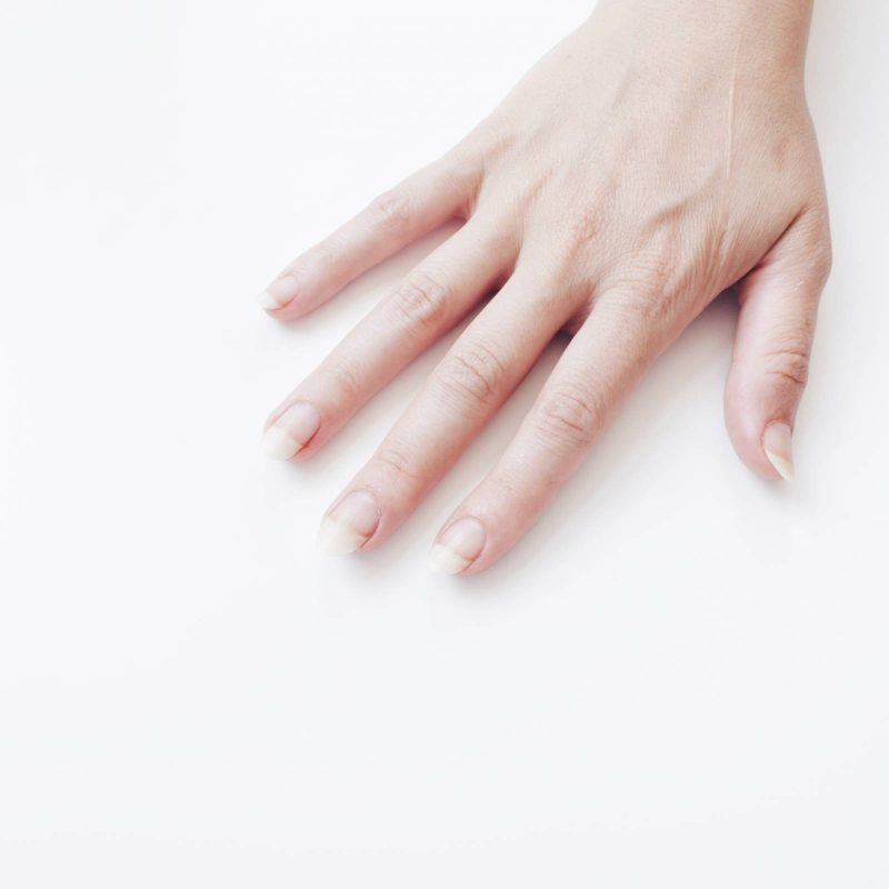 DIY How to get strong white nails