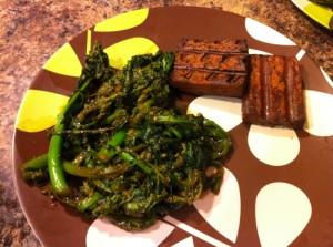 Headache Monday Meal - Broccoli Rabe