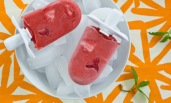 Strawberry Mojito Popsicles [close]