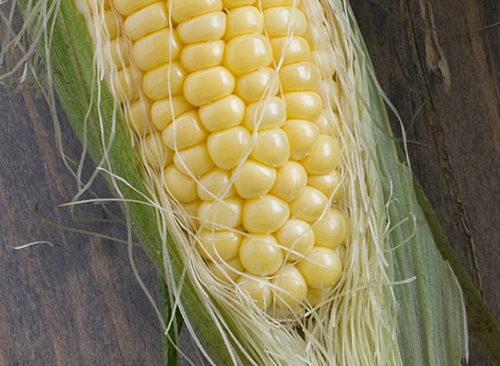 Fresh Corn for Pizza