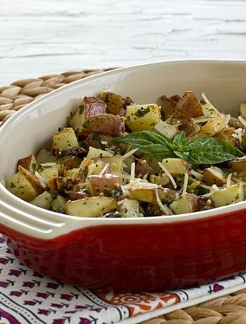 Roasted Pesto Potato Hash