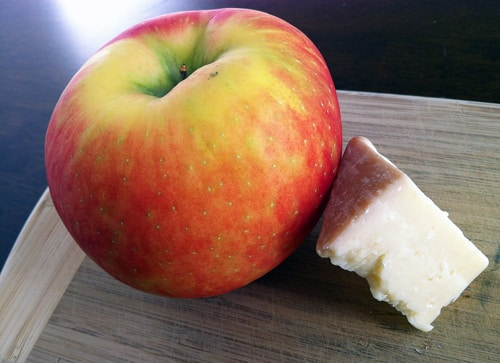 Honeycrisp Apple and Cheese