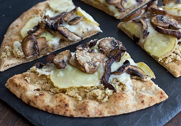 Wild Mushroom & Potato Pizza