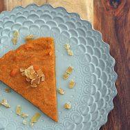 Crustless Sweet Potato Cardamom Pie