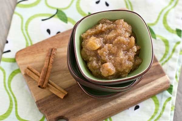 Chai-Spiced Slow Cooker Pear Applesauce Recipe