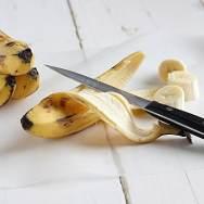 Cut Bananas Into Chunks