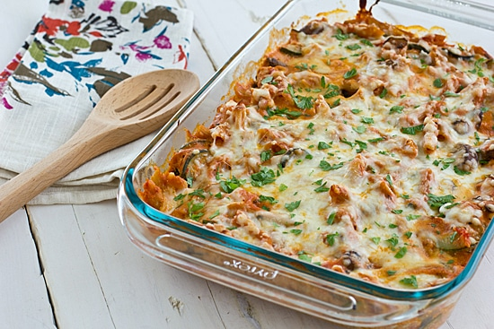 Vegetable Baked Ziti