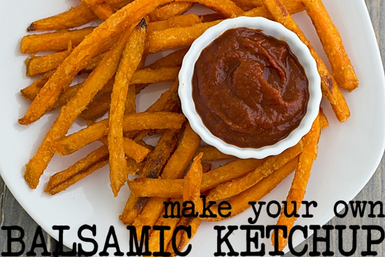 How to Make Your Own Balsamic Ketchup