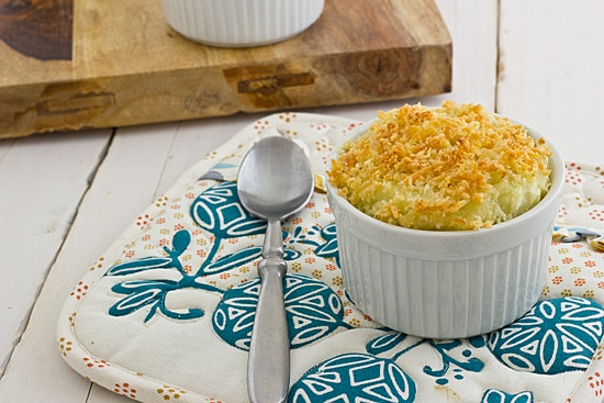 Truffled Mashed Potato Gratin