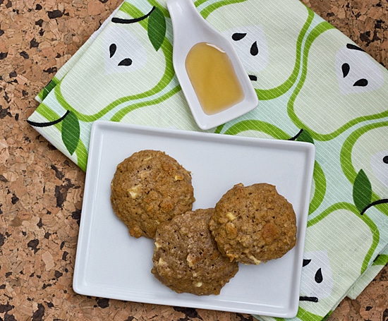 Apple Cinnamon & Quinoa Muffin Top Cookies
