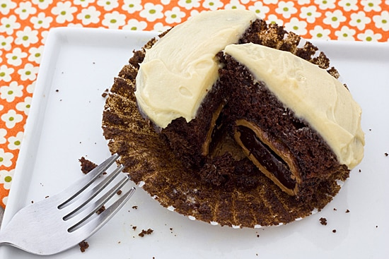 Cadbury Chocolate Creme Egg Cupcake