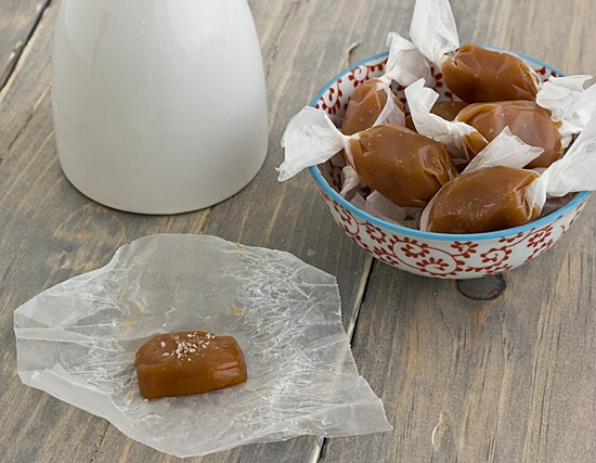 Spiced Sweet Potato Caramels Unwrapped
