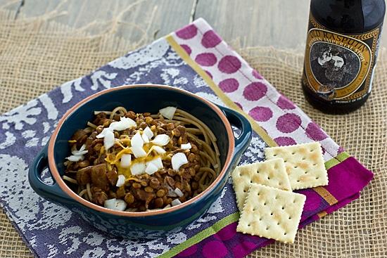 Vegan Cincinnati Chili Recipe | Cincinnati Chili with Lentils