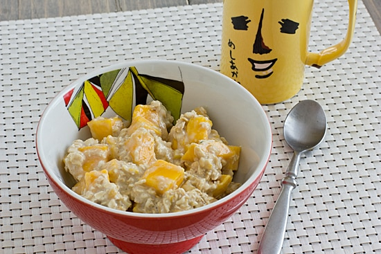 Mango Ginger Overnight Oatmeal