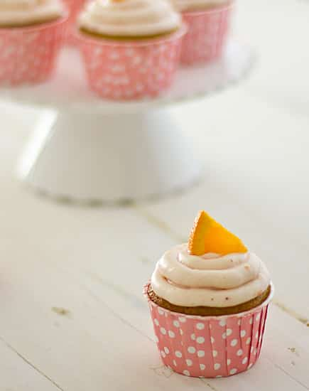 Strawberry Mimosa Cupcakes [single]