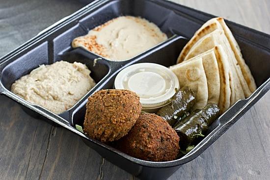 Charlie's Kebab Grill Veggie Platter