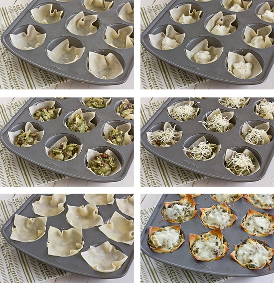 How to Make Lasagna in Muffin Tins