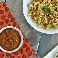 Roasted Vegetarian Puttanesca Sauce