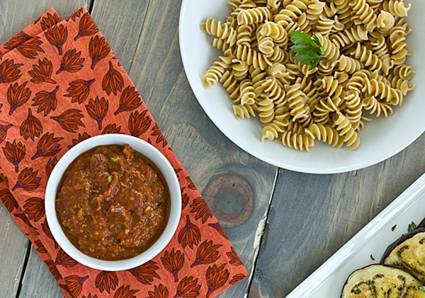 Roasted Vegetarian Puttanesca Sauce