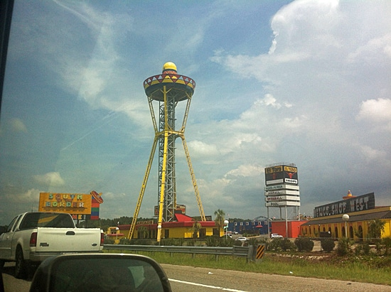 South of the Border in Dillon, SC