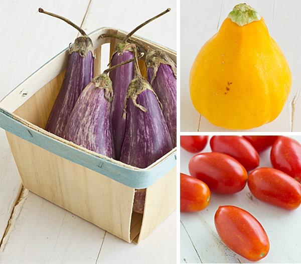 Recipe | Grilled Veggie Salad with Basil Parmesan Polenta