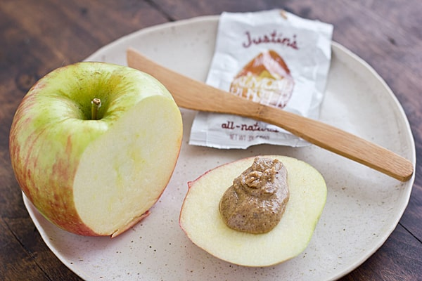 Apple with Maple Almond Butter