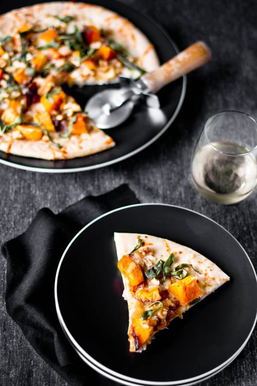 Butternut Squash & Caramelized Onion Flatbread Recipe