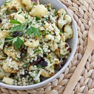Warm Cauliflower & Israeli Couscous Salad Recipe