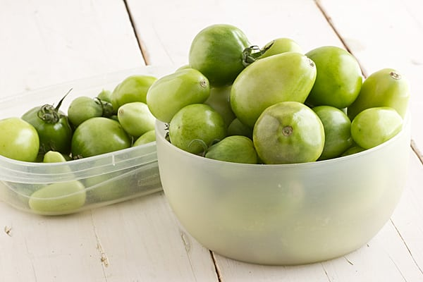Green Tomatoes - October 2012