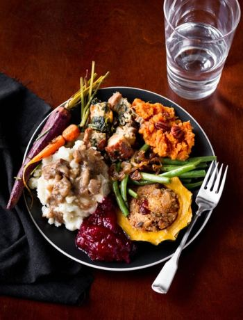 A Vegetarian Thanksgiving Menu