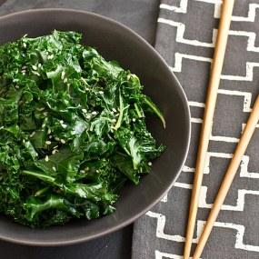 Citrus Sesame Kale Recipe