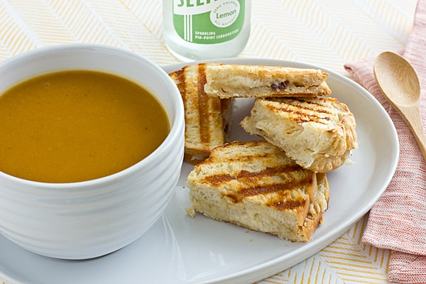 Roasted Garlic Grilled Cheese Recipe