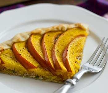 Savory Pumpkin Galette Recipe