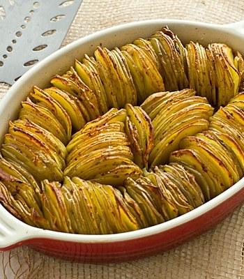 Crispy Chipotle Potato Tian Recipe