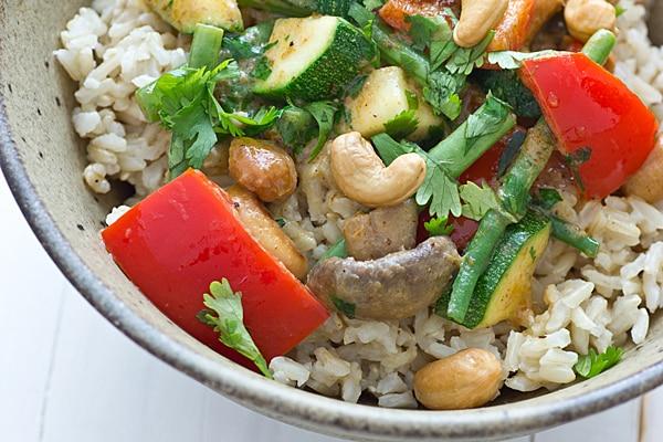 HelloFresh Vegetarian Curry