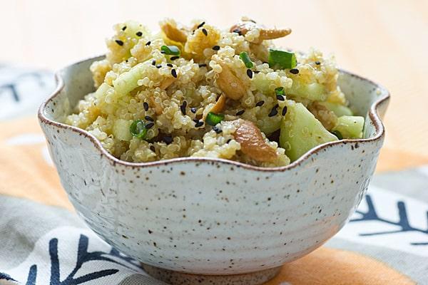 Curried Quinoa Mango Salad