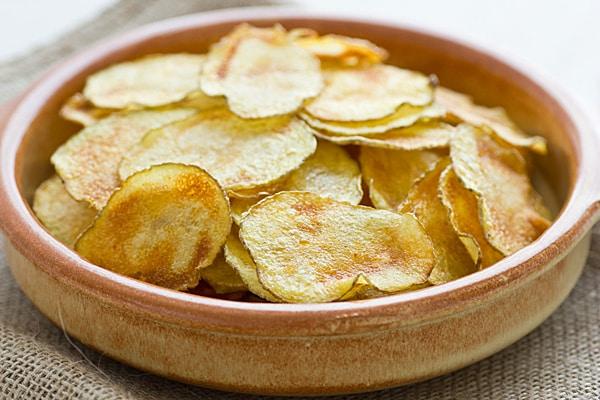 Baked Cholula Potato Chips
